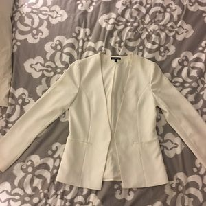 Women's Express White Jacket /Blazer